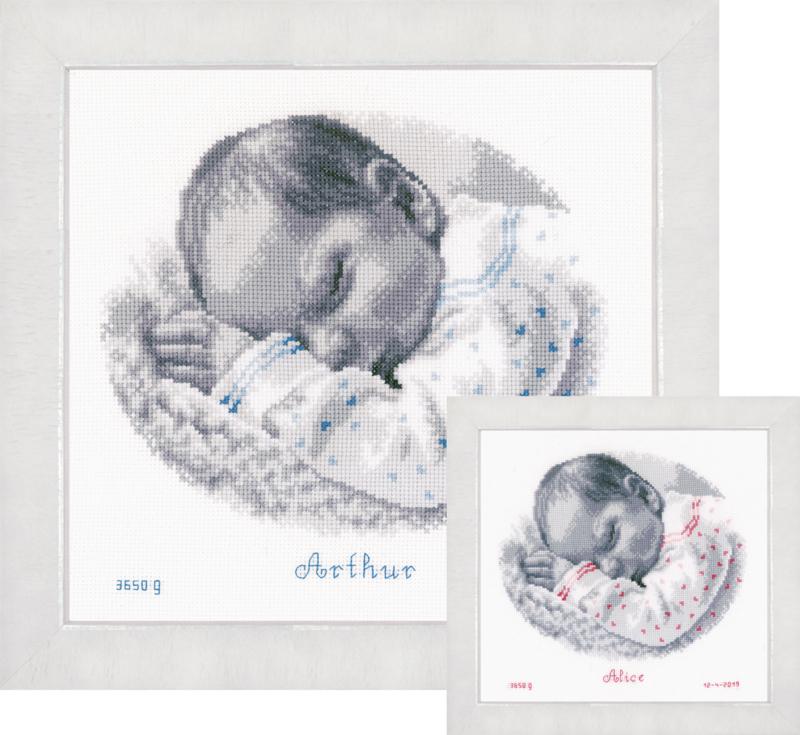 Telpakket kit Slapende baby
