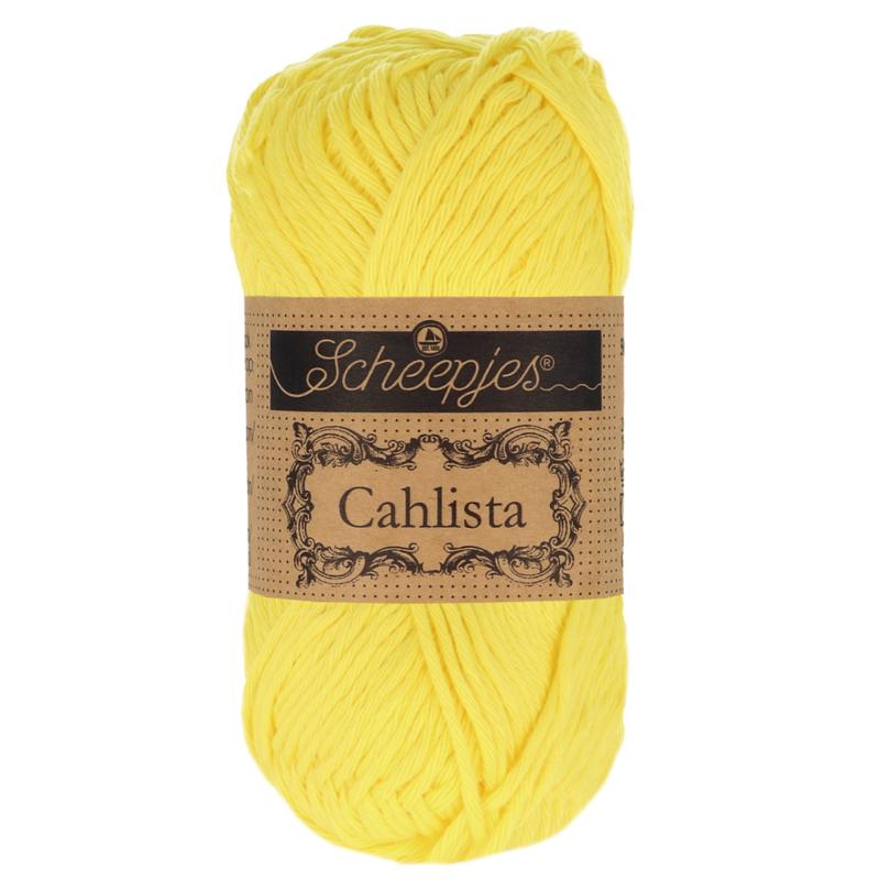 Scheepjes Cahlista 280 Lemon