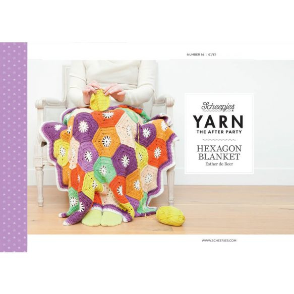 Yarn, the after party Patroon Hexagon Blanket nr 14