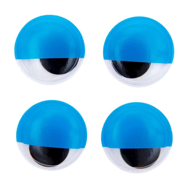 Rico fantasie wiebelogen met oogleden zelfklevend - 35mm 4 ogen