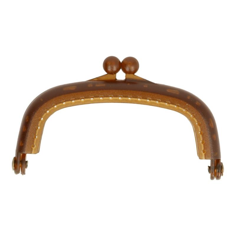 Portemonneesluiting Bruin 8,5 cm