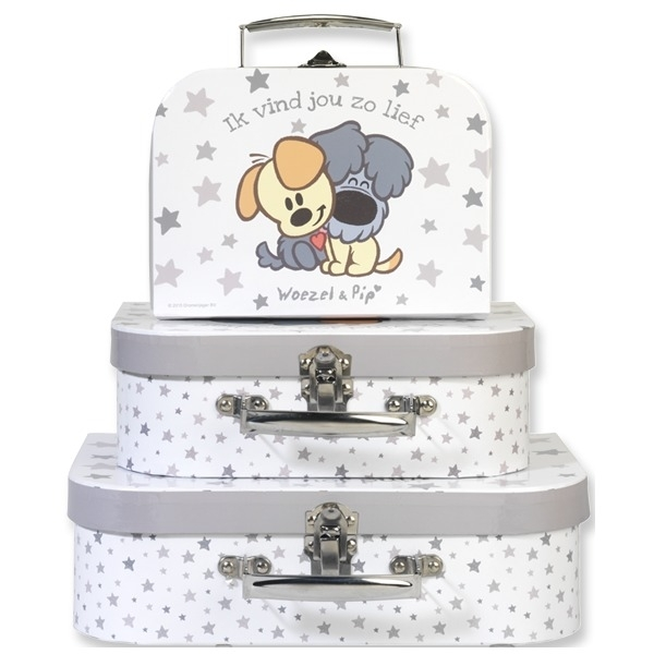 Koffertje Woezel en Pip