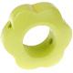 Houten bloemkraal lime  ''babyproof''