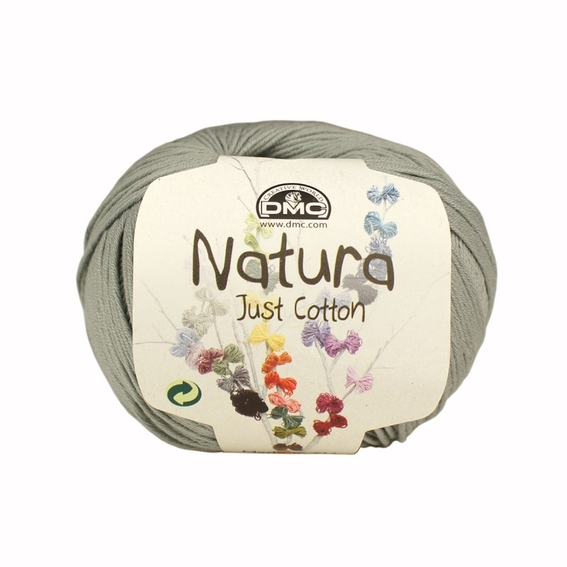 DMC Natura Just Cotton N09 Gris Argent