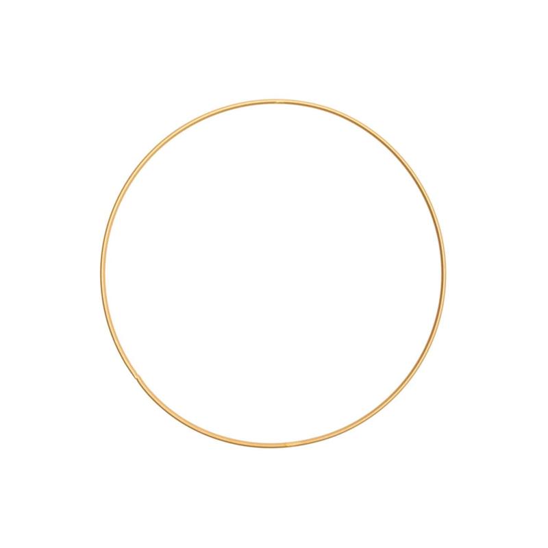 Rico Metalen ring 20cm Donkergoud