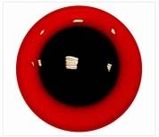 Veiligheidsoogjes rood 8 mm