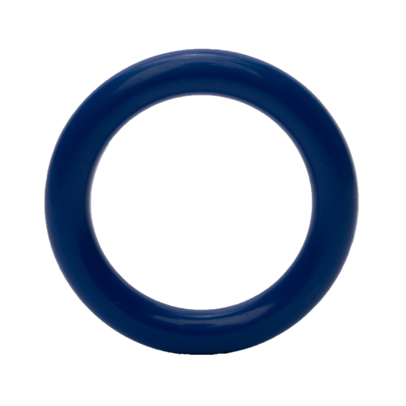 Plastic Ringetje 40 mm Blauw