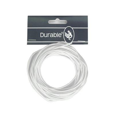 Durable Waxkoord 1mm - 5 meter - WIT