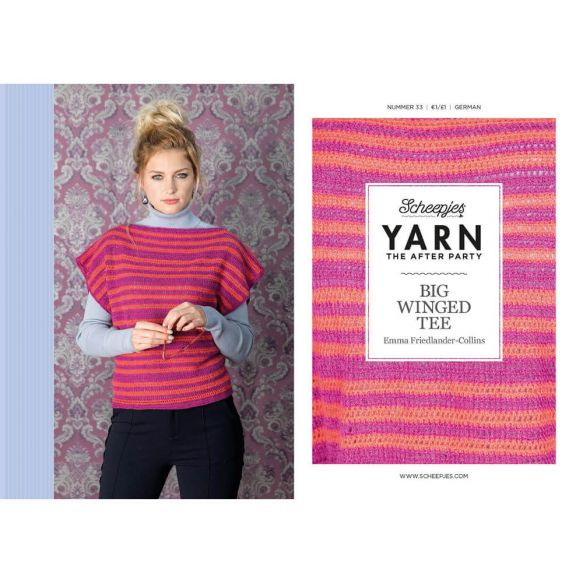 Yarn, the after party Patroon Big winged tee nr 33