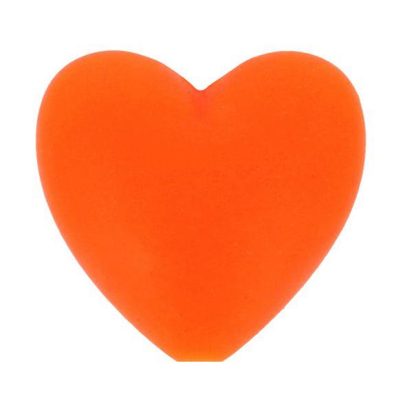 Opry siliconen kralen hartjes 5 stuks kleur 693