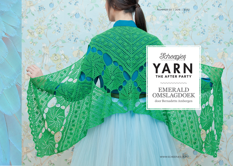 Yarn, the after party Patroon Emerald omslagdoek nr 3 (kooppatroon)