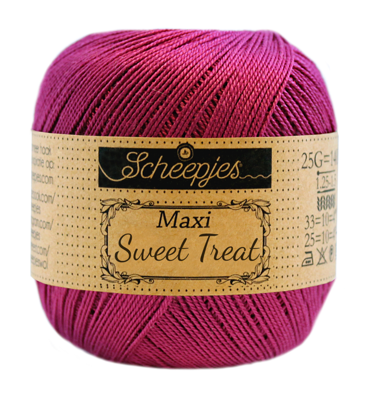 Scheepjes Maxi Sweet Treat (Bonbon) 128 Tyrian Purple