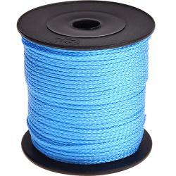Nylon/polyester koord Helderblauw
