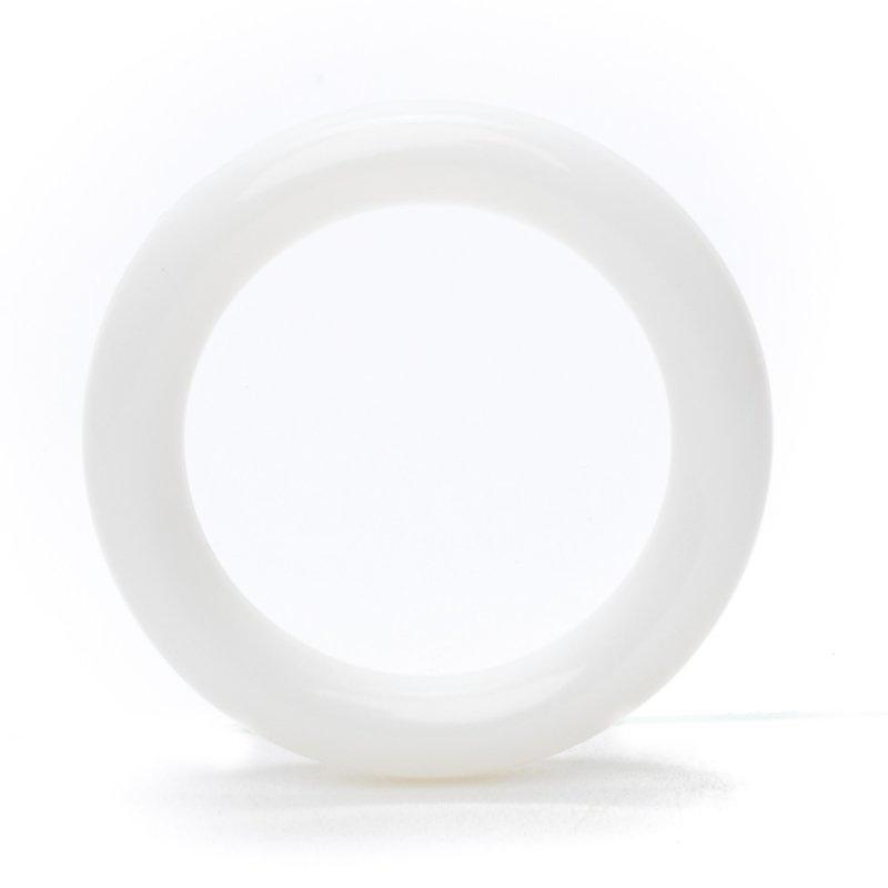 Haakringen van kunststof rond 39mm -losse ring per stuk