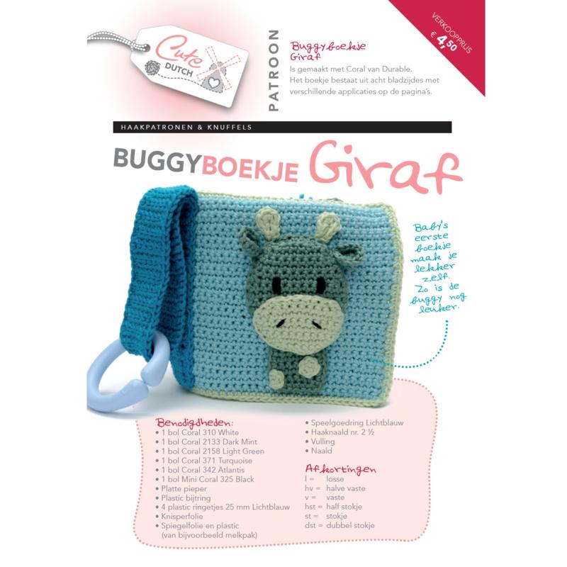 Patroonboekje Buggyboekje Giraf