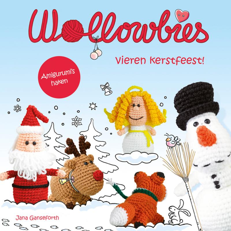 Wollowbies vieren kerstfeest