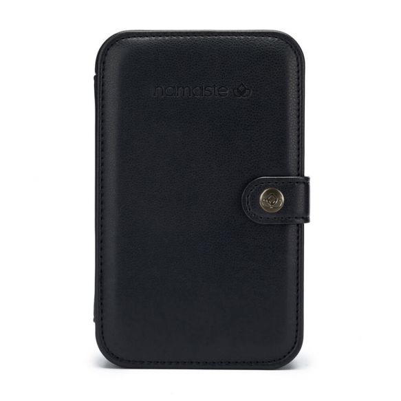 Namaste Buddy Case groot  18 x 11,5 x 5,5cm  Zwart