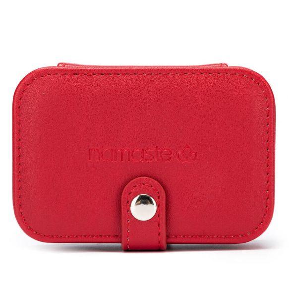 Namaste Buddy Case klein  11,7 x 7,8 x 4,6cm Red