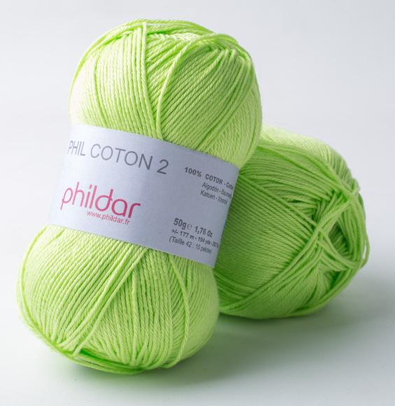 Phildar Coton 2 Pistache 0043