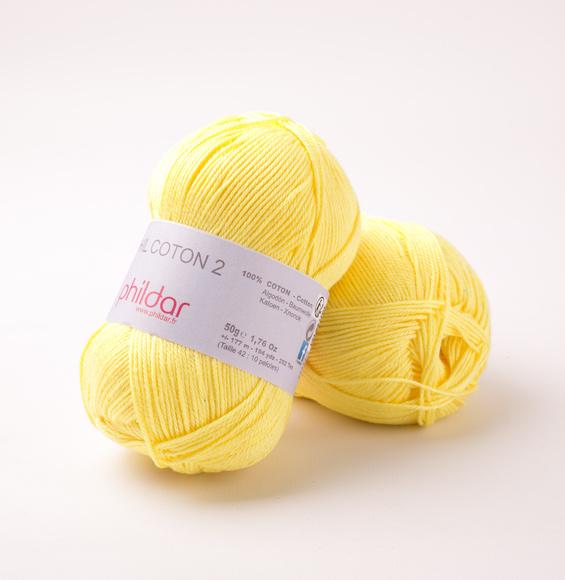 Phildar Coton 2 Citron 0063