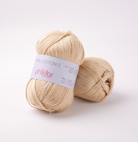 Phildar Coton 2 Seigle