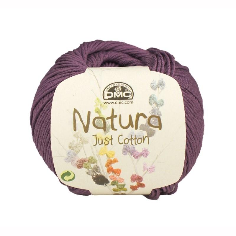 DMC Natura Just Cotton N45 Orquidea