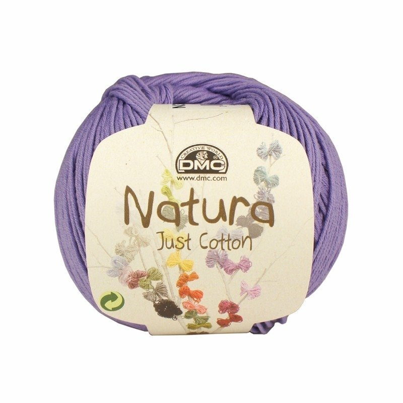 DMC Natura Just Cotton N30 Glicine