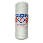 Durable breikatoen nr 8 Wit