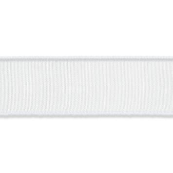 Organza lint 16mm breed Wit