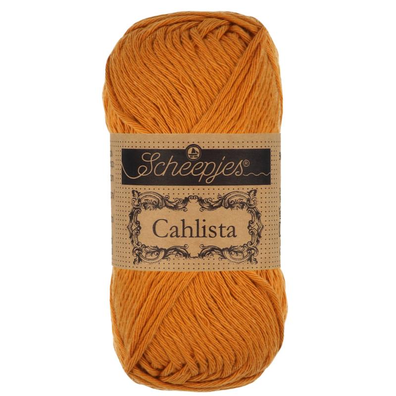 Scheepjes Cahlista 383 Ginger Gold