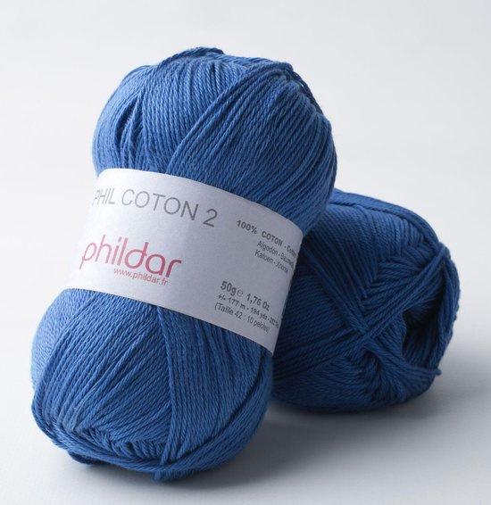 Phildar Coton 2 Outremer 0040
