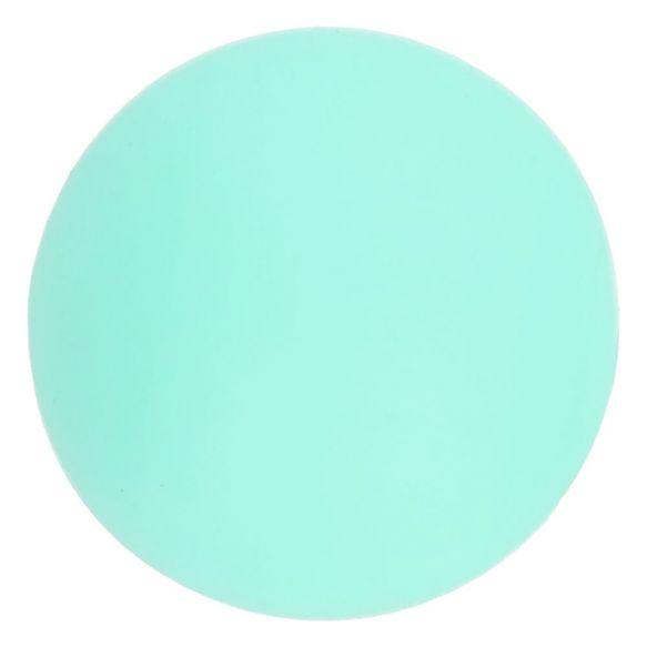 Opry Siliconen kralen 5 stuks 12mm kleur 285 Mint