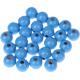 "Houten kraal 12 mm ""babyproof"" Hemelblauw"