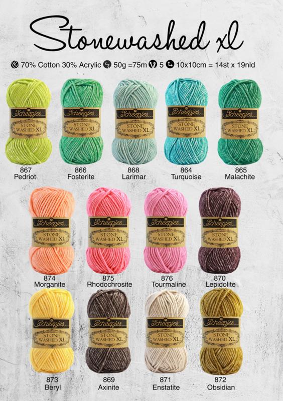 13 nieuwe kleuren Stonewashed XL!