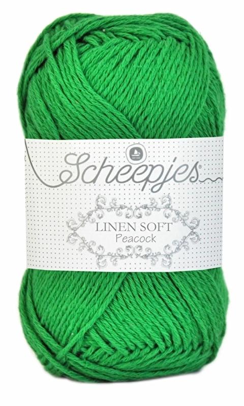 Scheepjes Linen Soft 606 Grasgroen