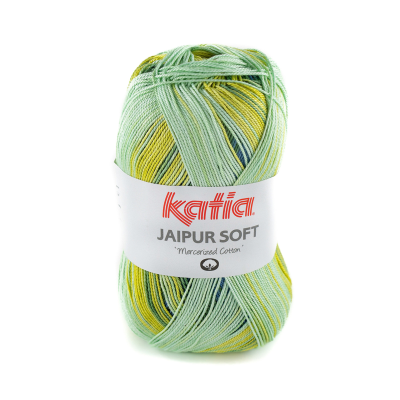 Katia Jaipur Soft 106 Blauw-Groen-Cirtoengeel