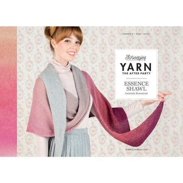 Yarn, the after party Patroon Essence Shawl nr 13  (kooppatroon)