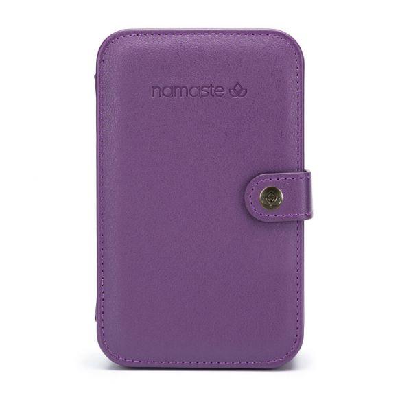 Namaste Buddy Case groot  18 x 11,5 x 5,5cm  Paars - Purple