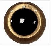 Veiligheidsoogjes goudkleur 45 mm