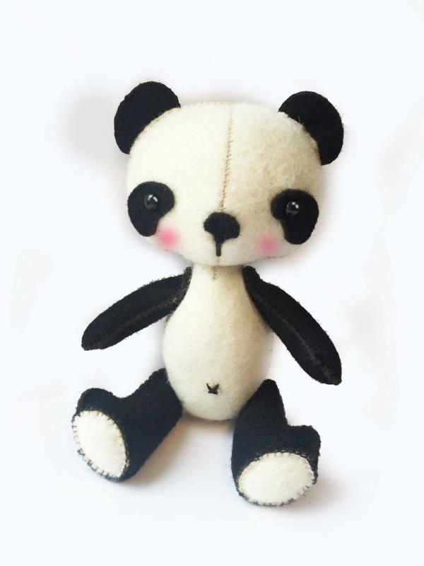 Hardicraft Viltpakket Panda Mees