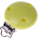 """Speenclip Hout Lime effen """"babyproof"""""""