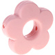 Siliconen bloem vintage roze 28mm