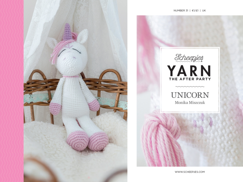 Yarn, the after party Patroon Unicorn  nr 31 (gratis bij order vanaf 10 euro)
