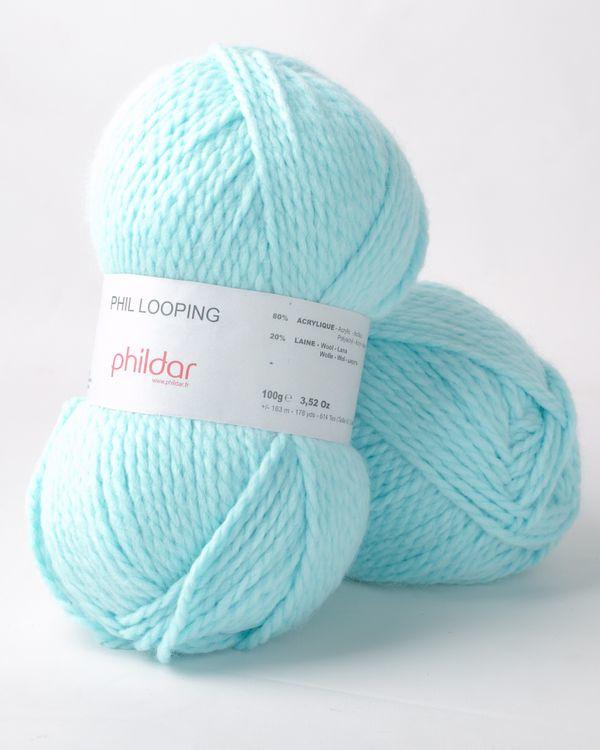Phildar Phil Looping 1085 Cyan