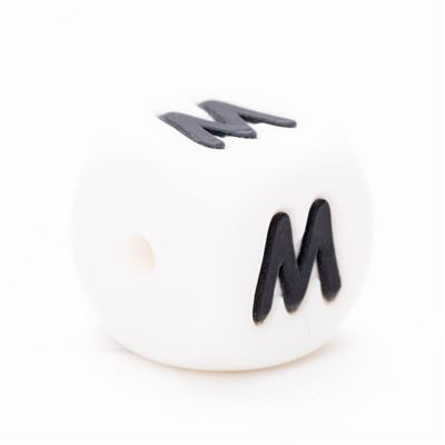 Durable Siliconen letterkraal  - M