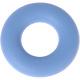 Siliconen ring babyblauw