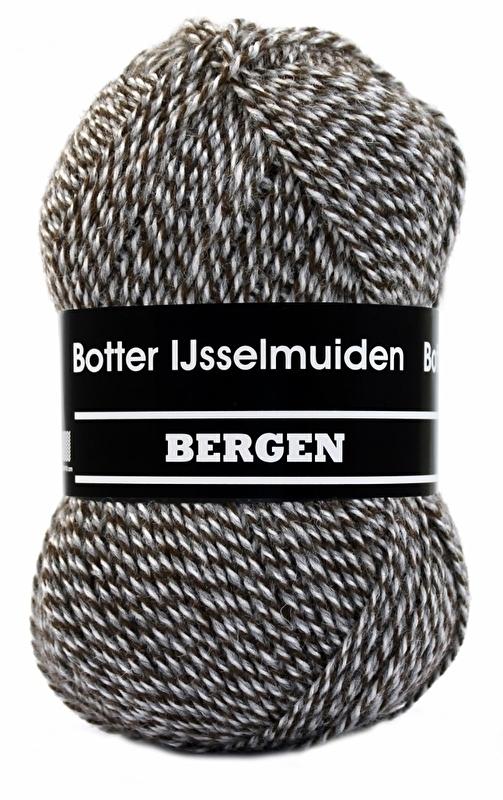 Botter IJsselmuiden Bergen 92 Bruin/grijs/wit