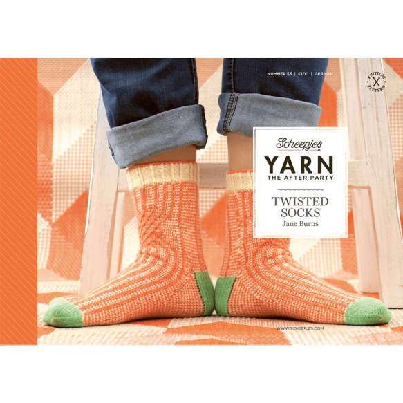 Yarn, the after party Patroon Twisted Socks nr 53