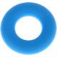Siliconen ring hemelsblauw