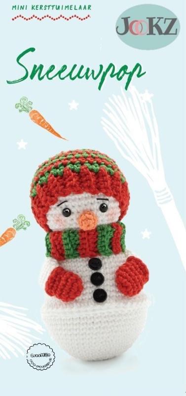 Garen en fourniturenpakket Mini Tuimelaar Sneeuwpop